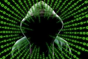 hacker w/ hood