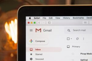 To encrypt email from a webmail client like Gmail, you will need a third-party app.